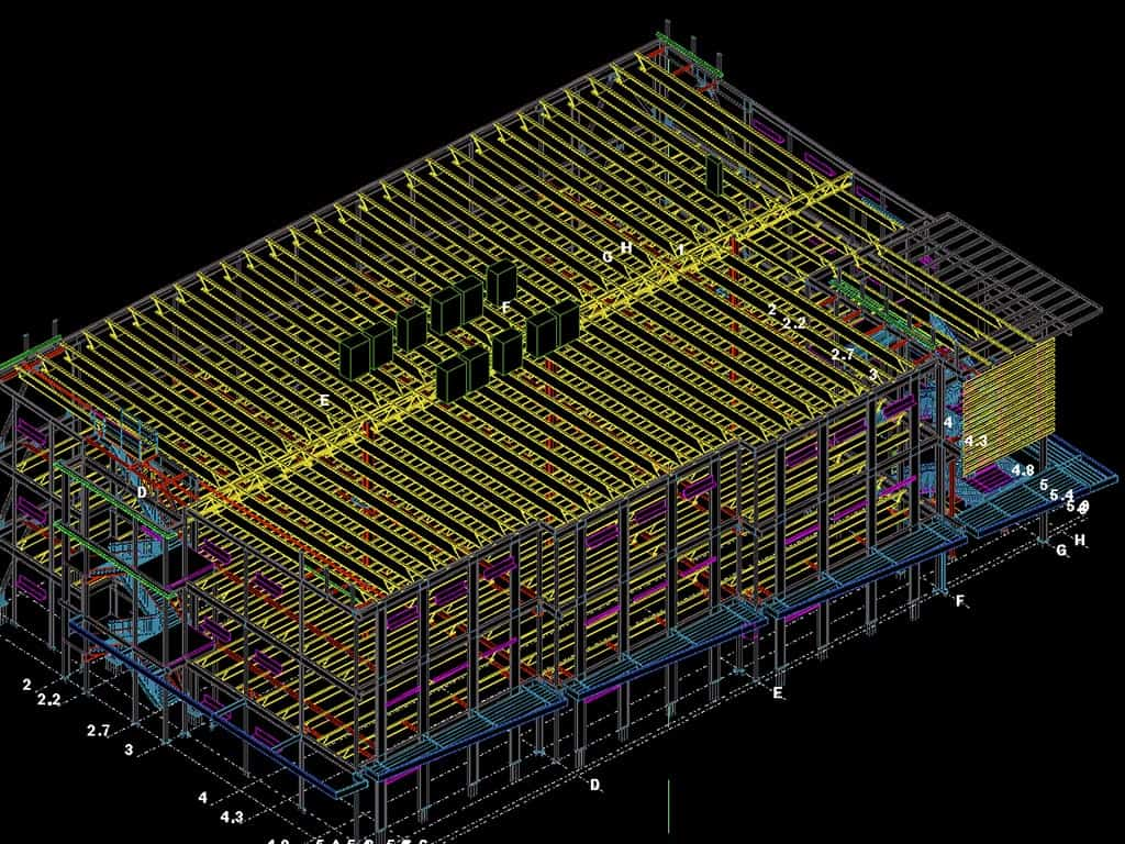MKA Drafting Consulting Services Structural Steel Detailing
